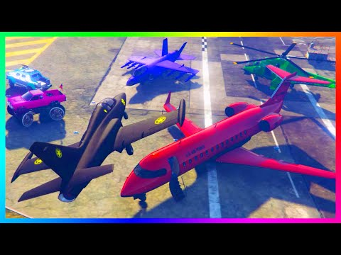 GTA 5 PEGASUS VEHICLE CUSTOMIZATION + CREATING MODIFIED JETS, PLANES & MORE WITH MODS!