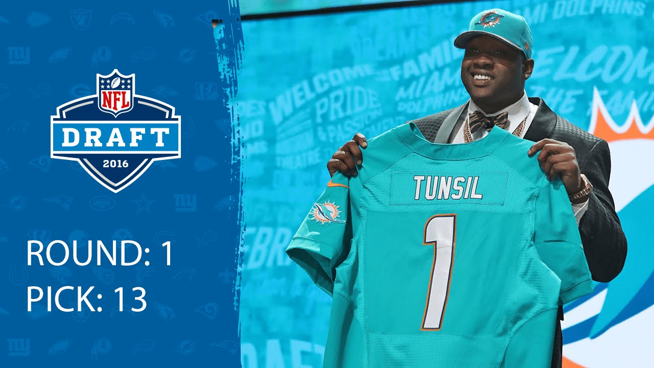 Laremy Tunsil OT Pick 13 Miami Dolphins