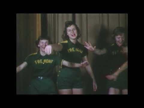 1955-56 Fremont High School Girls Basketball - Wayne County, NC