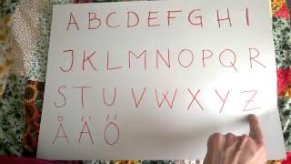 Svenska 1 Alfabetet [Swedish Alphabet]