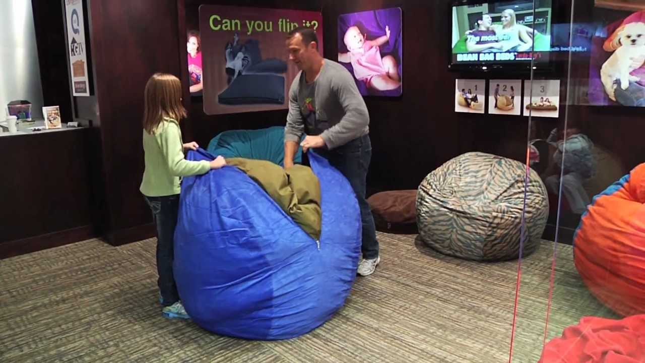 Cordaroy S Bean Bag Chair Video From Mall Of America Youtube
