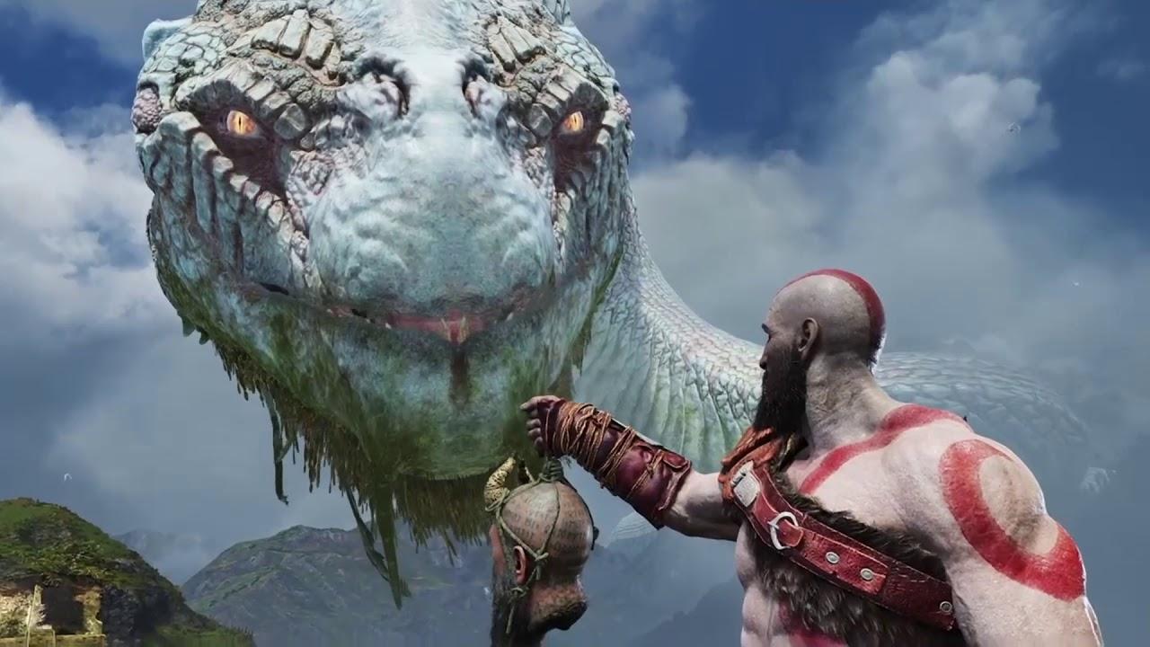 God of war 4 ps4 thor 39 s history between world serpent - God of war jormungandr ...