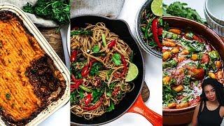 3 EPIC EASY VEGAN MEALS #veganuary