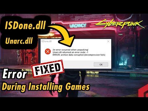 Fix ISDone.dll &