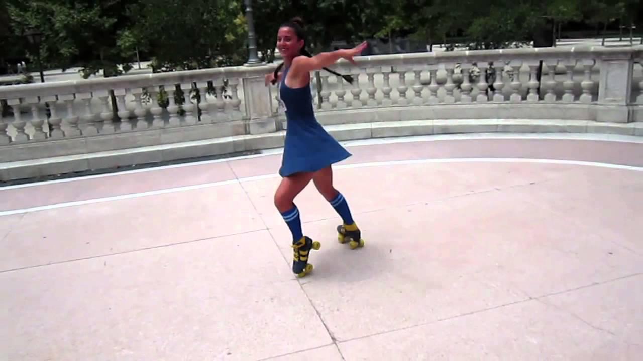 9736ee25a19 Laura Rollerdancer - Rookie Retro Skates. - YouTube