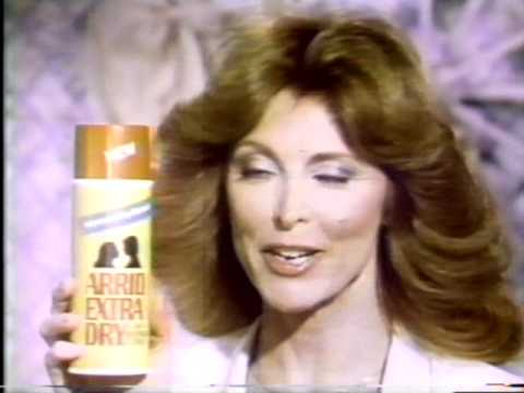 Arrid Extra Dry Antiperspirant w/ Tina Louise commercial 1978