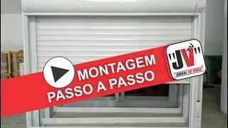 MONTAGEM DE PERSIANA DA INTEGRADA - PASSO A PASSO / PRESENTE 2 SEMANA DO VIDRACEIRO JORNAL DO VIDRO