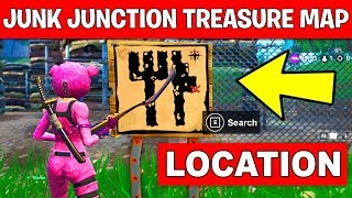 Search the Treasure Map Signpost found in Junk Junction – LOCATION WEEK 10 CHALLENGES FORTNITE jun.k 検索動画 18