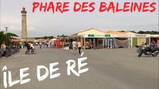 Phare des Baleines ; île de Ré ; Headlight ; Saint-Clément-des-Baleines ; Charente-Maritime ; France
