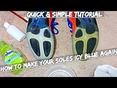 PROVEN Tutorial : How To Make Your Soles Icy Blue Again (QUICK & SIMPLE)