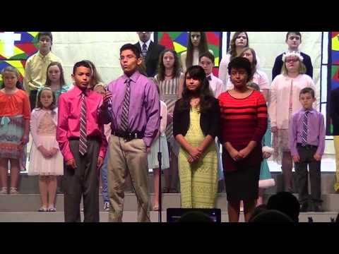 Sugar Creek Christian Academy Easter Play, 2016