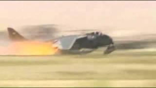 RAF Harrier Crash, Kandahar, Afghanistan