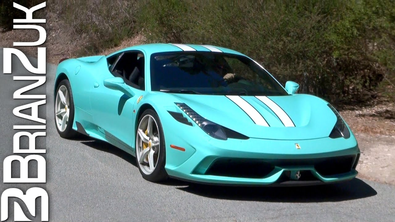 tiffany blue ferrari 458 speciale youtube - Ferrari 458 Blue And White