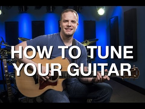 how to tune your guitar beginner guitar lesson 6 youtube. Black Bedroom Furniture Sets. Home Design Ideas