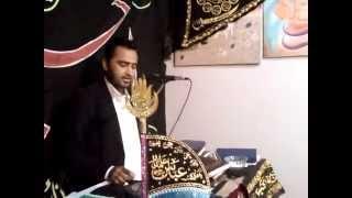 Majlis e aza 3 jamdi ul sani 2013 Nicosia Cyprus Zakir Syed Laiqat Abbas