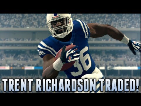 Trent Richardson TRADED to the Colts for 1st Round Pick