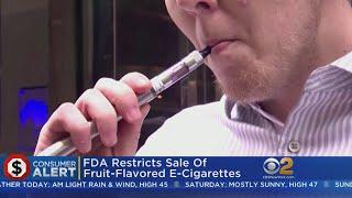 FDA Restricts Sale Of Flavored E-Cigarettes