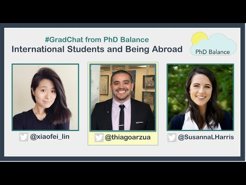International Students and Being Abroad ~ Grad Chat w/ Thiago Arzua