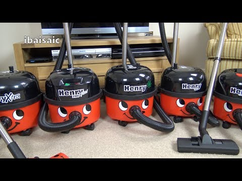 Battle Of The Numatic Henry Vacuum Cleaners
