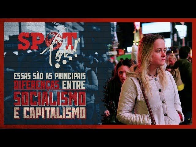 Essas são as principais diferenças entre socialismo e capitalismo