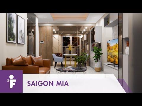 Thiết kế nội thất căn hộ chung cư SaigonMia 2    FURNIST™