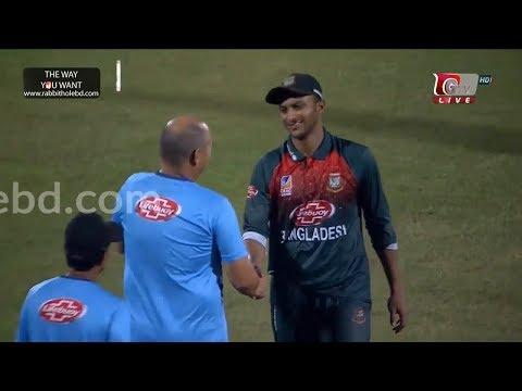 Winning moment of Bangladesh vs Zimbabwe   4th T20   Bangladesh Tri-Series 2019