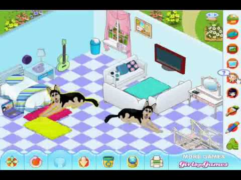 my new room 3 games for girls