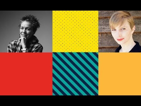 PEN World Voices: Laurie Anderson and Chelsea Manning