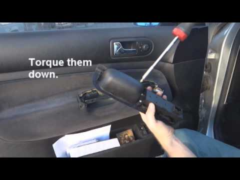 How To Replace A Broken Power Window Button On A 2001 Golf