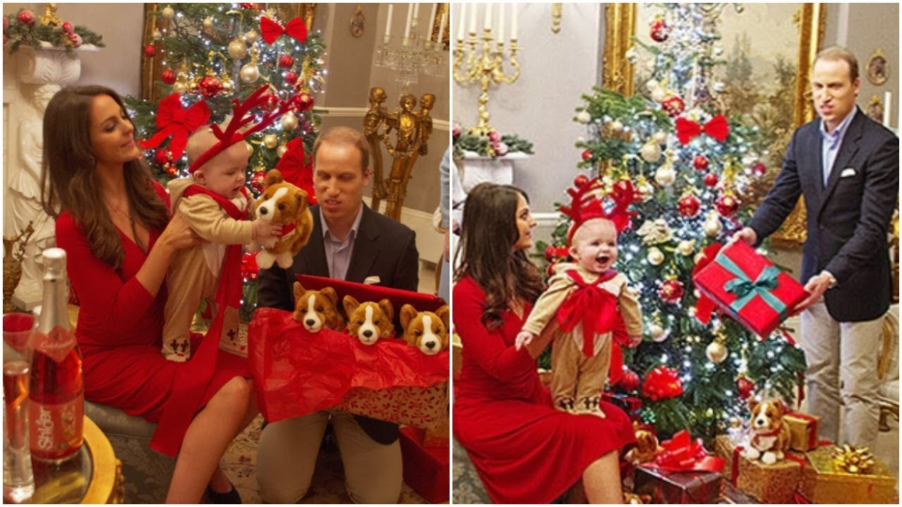 How Prince William and Kate Middleton Decorate Kensington Palace on Christmas. - YouTube