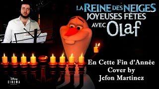 [2 000 abonnés/Cover] Joyeuses Fêtes avec Olaf - En cette fin d'année by Jefon Martinez