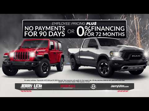 Jerry Ulm Chrysler Dodge Jeep RAM I Start Something New Sales Event