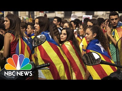 Spain Braces For Catalan Independence Referendum | NBC News