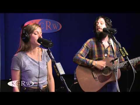 "Adam Green and Binki Shapiro performing ""Here I Am"" Live on KCRW"