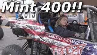 Honda Talon demo wrap up, Mint 400 contingency day 1 & 2!