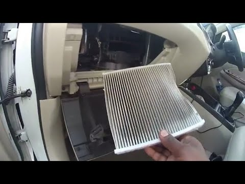 Maruti Dzire || A/C Filter or Cabin Filter cleaning at Home || in Hindi