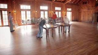 Osborne Wood Products - 21 Foot Cherry Slide Table Teaser
