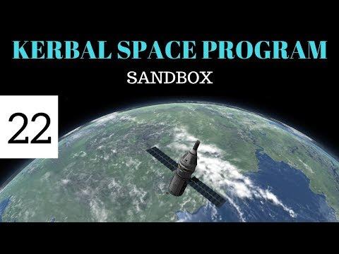 Kerbal Space Program Sandbox (22): Manned Orbiting Laboratory