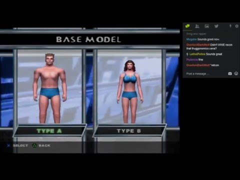 Let's Play SmackDown! Here Comes the Pain Part 001: Character Creation