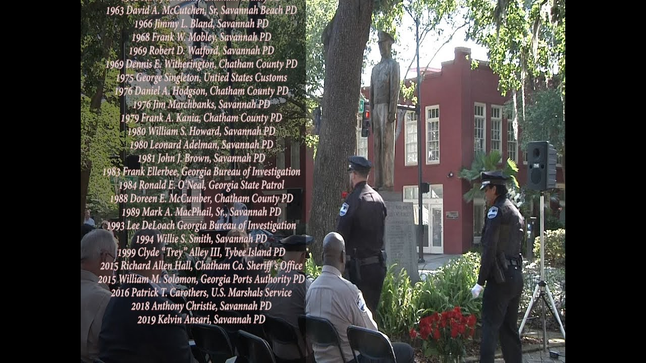 2019 Police Memorial Day Feature Youtube