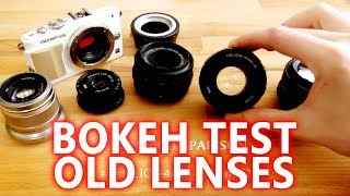 Bokeh for 20-100$ with old M42 lenses (Helios, Zeiss, Asahi) - 4K samples