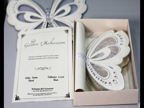 Tarjetas de invitacion para una boda youtube - Tarjeta de boda ...