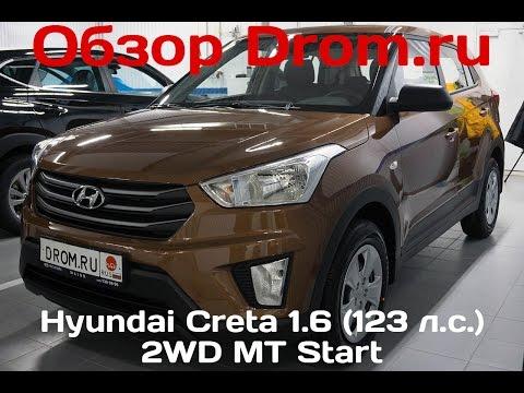 Hyundai Creta 2016 1.6 123 л.с. 2WD MT Start видеообзор