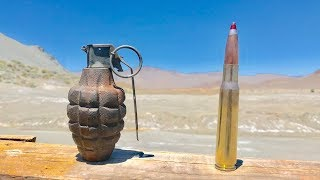 50cal vs Pineapple 🍍