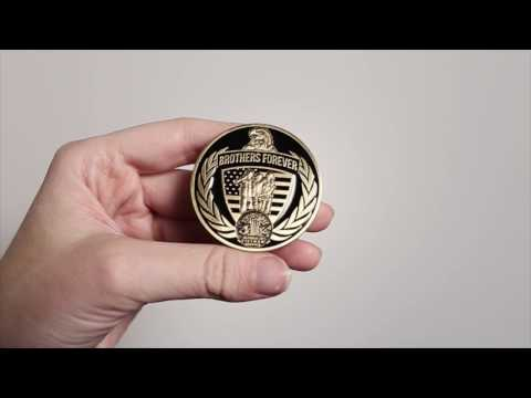 Vietnam Brothers Forever Commemorative Challenge Coin - Limited Issue