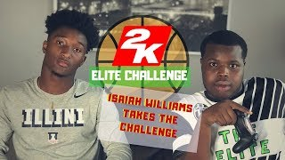 2k Elite Challenge Interview with Isaiah Williams Univ of Illinois Commit