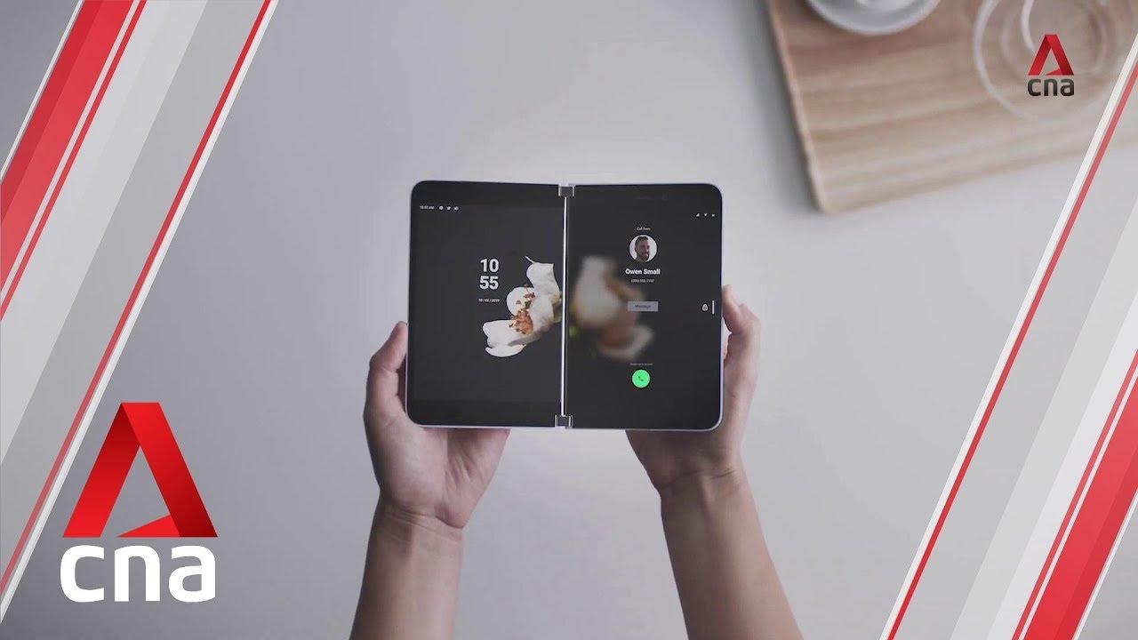 Microsoft's twin-screen Surface Duo smartphone