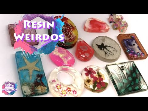 12 Cheap and Easy Diy Jewellery / Pendants - Uv Resin Ideas