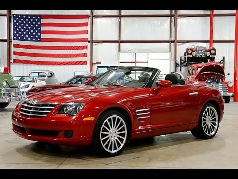 2006 Chrysler Crossfire Convertible Burgundy