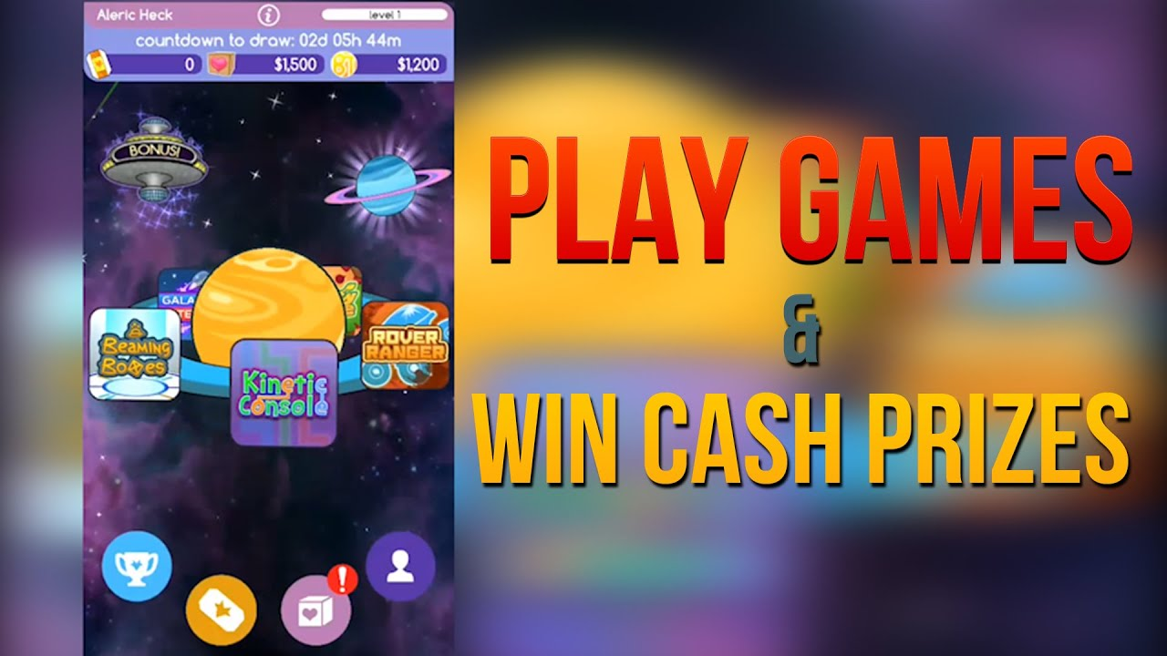 Win Cash Play Games